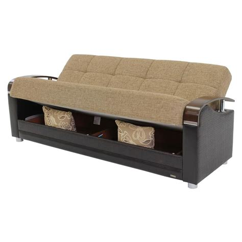 tan futon peron tan futon sofa el dorado furniture