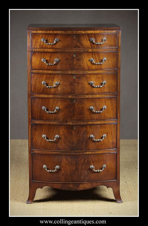 thin width chest of drawers narrow chest of drawers collinge antiques