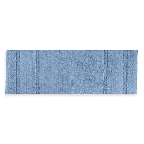 60 Inch Bath Rug Buy Majesty 22 Inch X 60 Inch Bath Rug In Sky Blue From Bed Bath Beyond