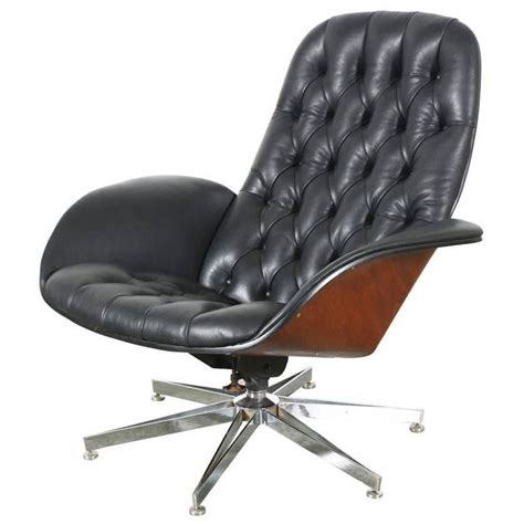 plycraft lounge chair base george mulhauser leather chair with chrome base