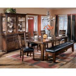 Ashley Furniture Dining Room Tables by Larchmont Extension Dining Room Set Signature Design By
