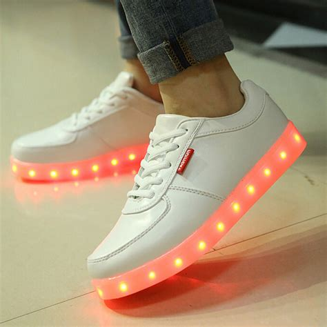 popular light up shoes unisex led shoes fashion light up shoes for adults 7