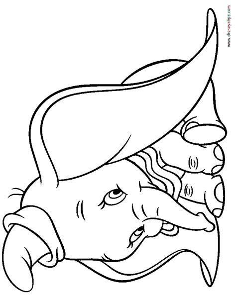 Coloring Page dumbo coloring pages disney coloring book