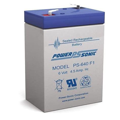 Motor Aki Kering Tipe 6v 45 Ah Charger powersonic ps640 6v 4 5 sla rechargeable battery f1 terminal sealed lead acid ebay