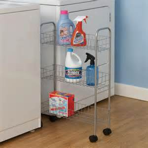Laundry Room Organizers And Storage Rolling Laundry Room Storage Cart In Laundry Carts