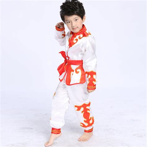 Gw101c Fashion Boy New Arrivals new arrival boys performance clothing traditional style kung fu sets stage