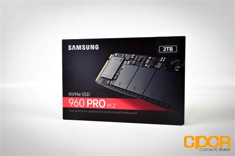 samsung 960 pro 2tb review nvme pcie ssd custom pc review