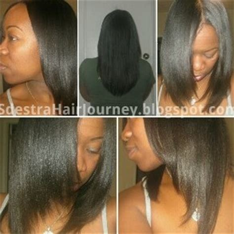 healthy relaxed hair tips