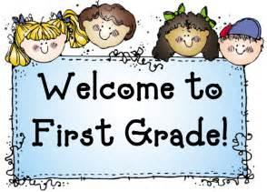 First grade welcom png