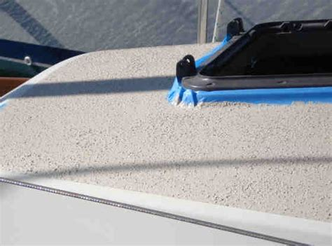 Paint For Boat Floor by Ultra Tuff Non Skid On Deck