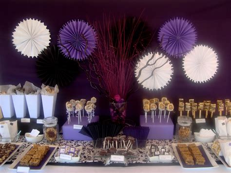 table for quinceanera sweet tooth guest desserts dramatic quincea 241 era