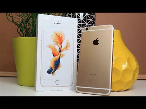 iphone 6s plus gold unboxing day 59