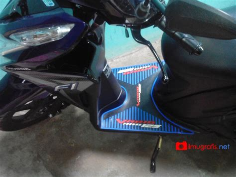Karpet Vario Techno 125 karpet bordes injakan all vario techno cbs iss