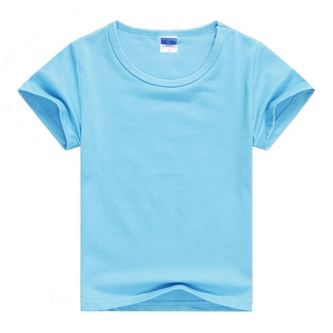 Transparent Basic T Shirt Baby Blue get cheap blanks aliexpress alibaba