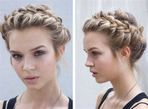 types of crown on head for hair styles косички на короткие волосы фото прически
