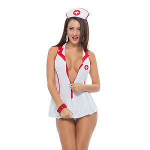 sexy nurse outfit mini dress set sexy roleplay costume