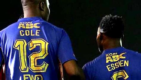 Trucker Persib Football Club 3 essien cole banned from in indonesia without permits free malaysia today