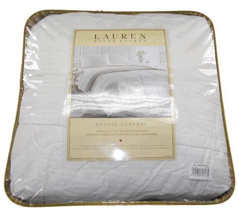 ralph lauren bronze comfort european down duvet ralph lauren bronze comfort white down gel fiber