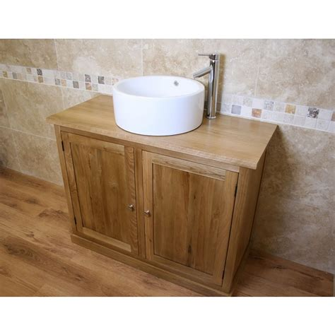 Free Standing Vanity Units Bathroom Atla Free Standing Oak Bathroom Vanity Unit Click Oak