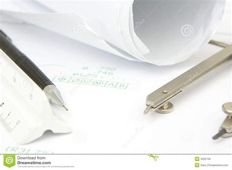 5 Drawing Tools by Drawing Tools Royalty Free Stock Image Image 4255756