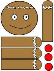 printable gingerbread man paper bag puppet 17 best images about gingerbread man on pinterest