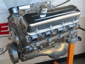chevrolet 454 450 hp high performance turn key crate