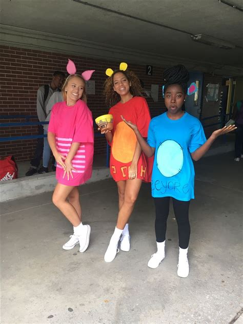 character day  homecoming week   trio