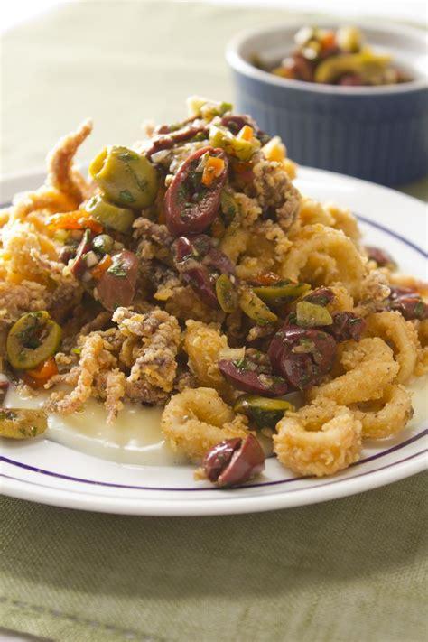 fried calamari salad calamari squid octopus pinterest 152 best seafood calamari images on pinterest squid