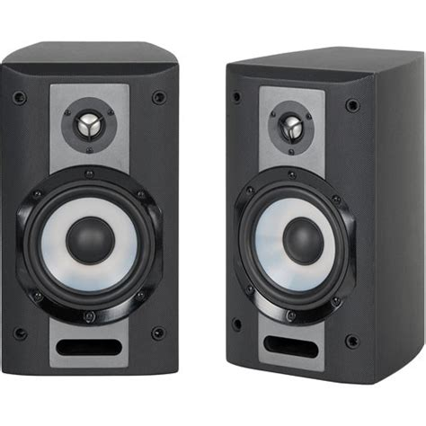 yamaha ns am380sbl 2 way bookshelf speaker system