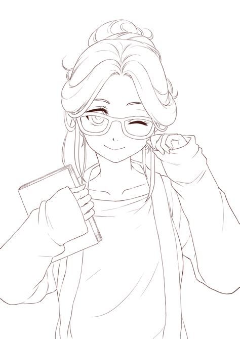 Sketches To Color by Anime Lineart Transparent Search Anime Stuff