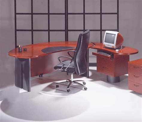 oval office desks 2pc cherrywood contemporary oval executive office desk u utm o2 mahogany only ebay
