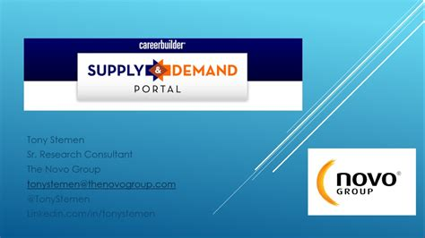 careerbuilder supply demand portal overview youtube