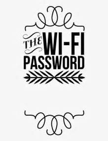 Guest Bedroom Printables Wifi Password Printable For Guest Room Future Home