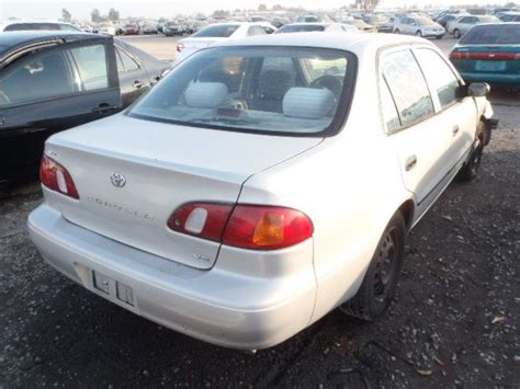 toyota corolla 1999 parts used 1999 toyota corolla engine accessories exhaust