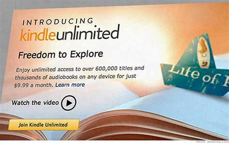 amazon unlimited books kindle unlimited is a subscription reading service by