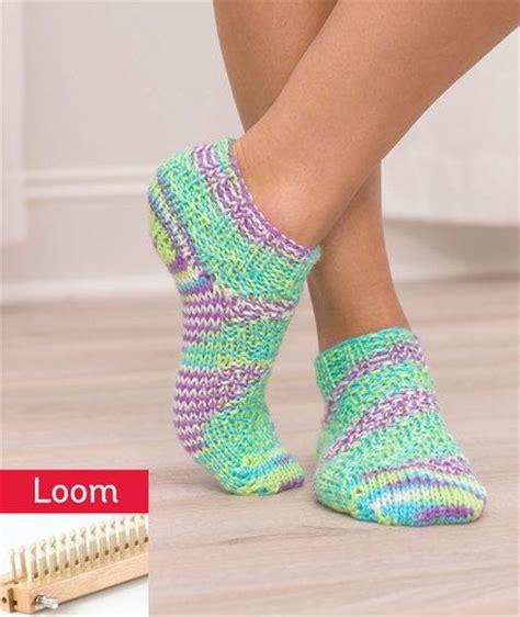 loom knit socks 25 best ideas about sock loom on knitting