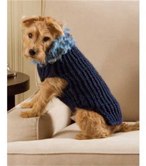 knitting patterns for dog sweaters free easy to loom dog sweater loom knitting pinterest