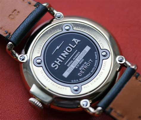 made in detroit a visit to shinola watches ablogtowatch