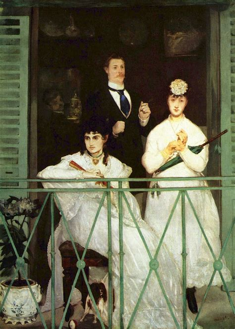manet his life and the balcony 1869 edouard manet wikiart org
