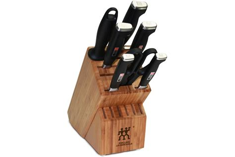 zwilling four ii review henckels four ii 8pc knife block set 33403 000