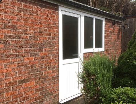 personnel door window  garage door wirral pennine