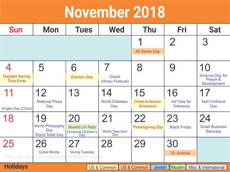 november 2018 calendar hindu november 2018 printable calendar printable calendar templates