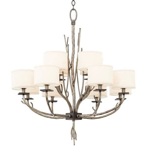 Sculpted Branch Shade Chandelier Large Shades Of Light Large Chandelier Shades