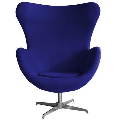 egg chair blue