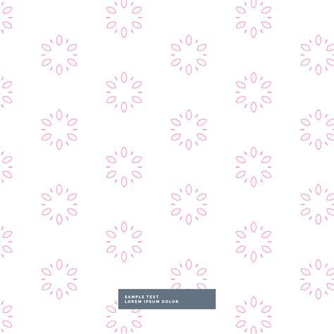 pattern cute pink vector cute pink flower pattern background download free vector