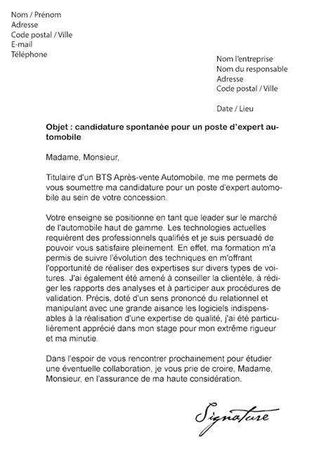 Lettre De Motivation Barman Hotel De Luxe lettre de motivation expert automobile mod 232 le de lettre