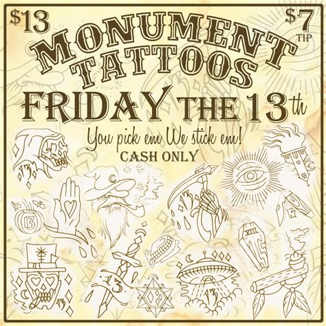 tattoo flash friday the 13th friday the 13th tattoos google search tattoos