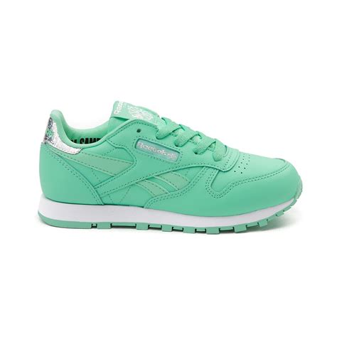reebok athletic shoes youth reebok classic athletic shoe green 1480834
