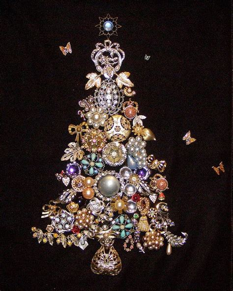 Jewellery Garden Decoration by Costume Jewelry Trees And Vintage On