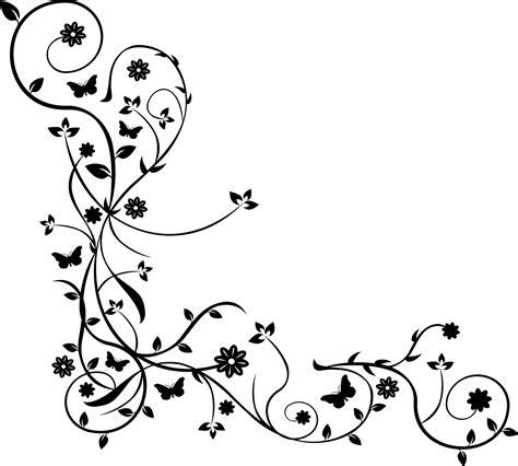 tattoo vorlagen png blumenranke wandtattoo wandsticker und wandaufkleber